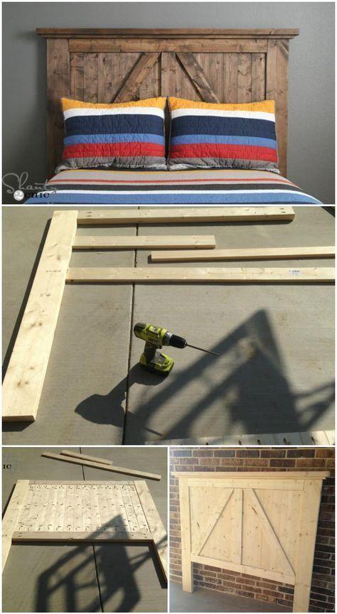 Tolle DIYKopfteilIdeen für Ihr gutes Schlafzimmer    DIY Headboard Ideas