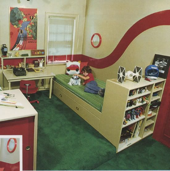 Vintage Kids Room: Vintage Kiddo: Kid Bedrooms From The 60s And 70s Were