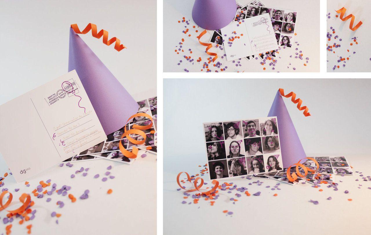 Manuela Cunha Soares: Design Gráfico e Ilustração | + Design Gráfico, Birthday invitation.