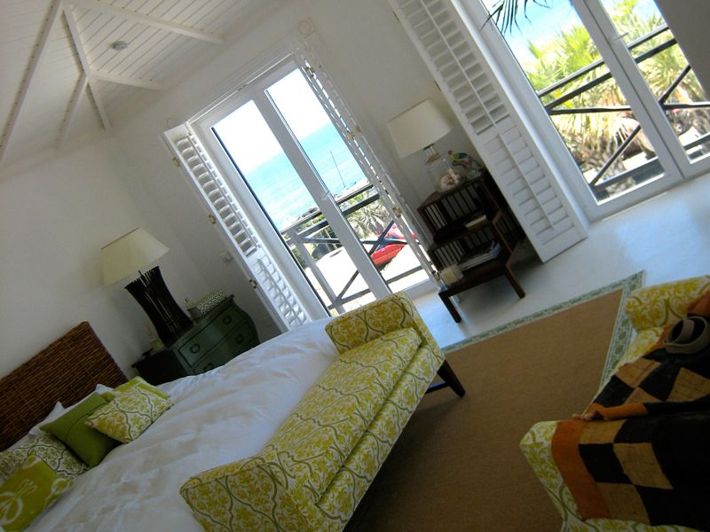 The bedroom inside your beach villa in Punta del Este