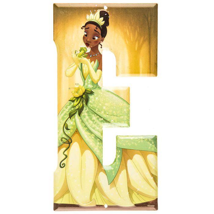 Tiana The Princess and the Frog Disney Princess Metal Letter - E ...