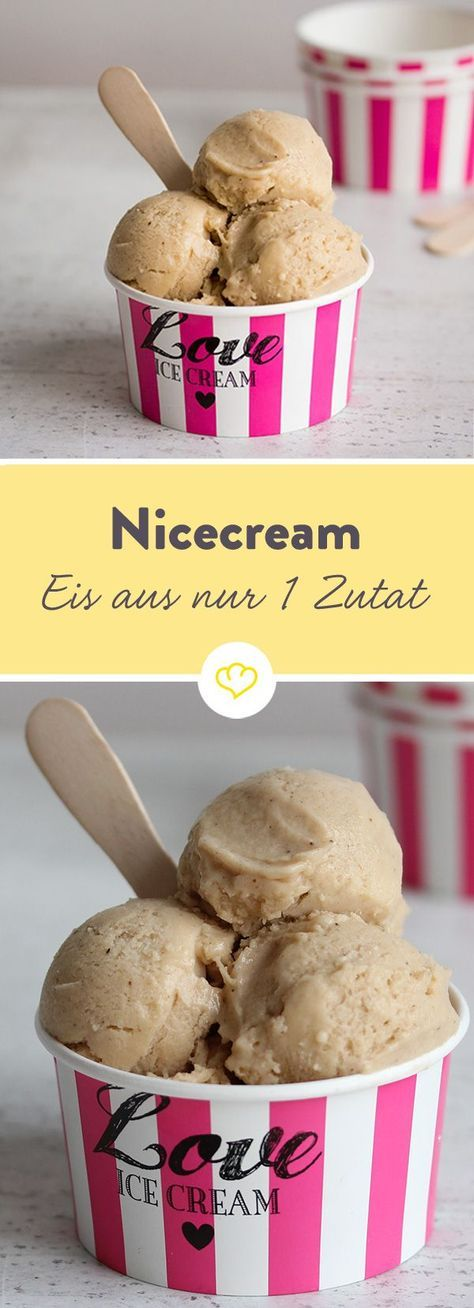 nana ice cream das eis mit nur einer zutat rezept eis rezepte eis eismaschine und eis. Black Bedroom Furniture Sets. Home Design Ideas