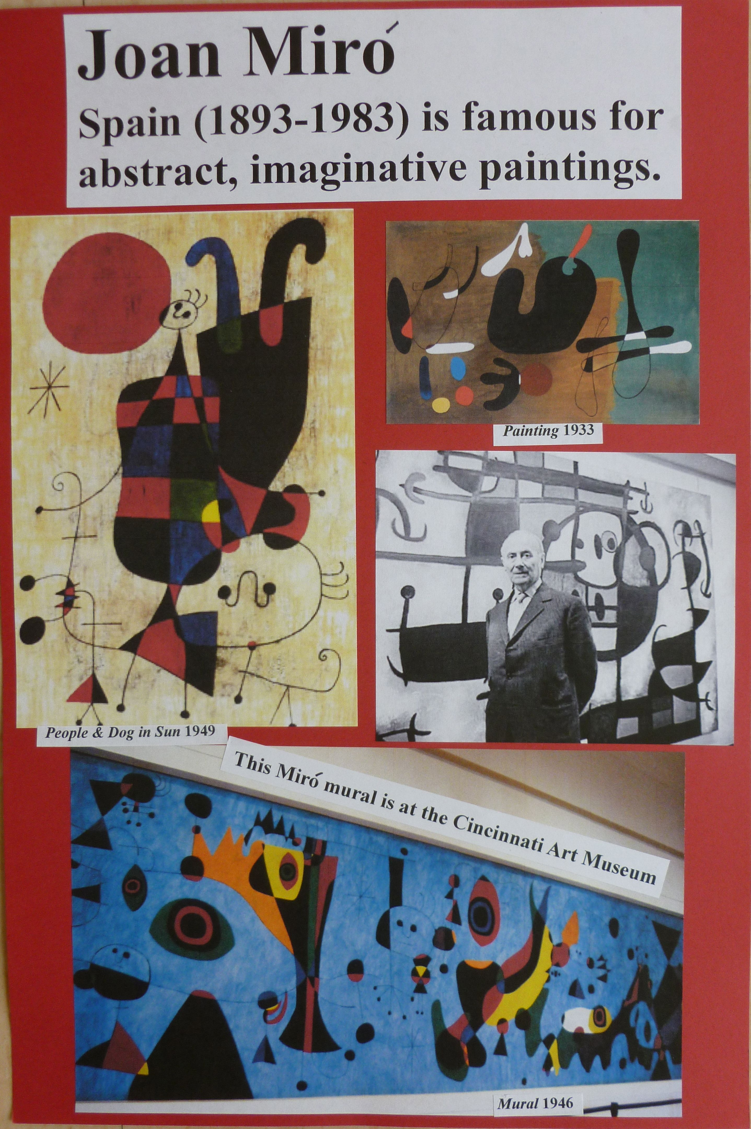 Ms Maggie Mo S Artist Poster For Classroom Walls