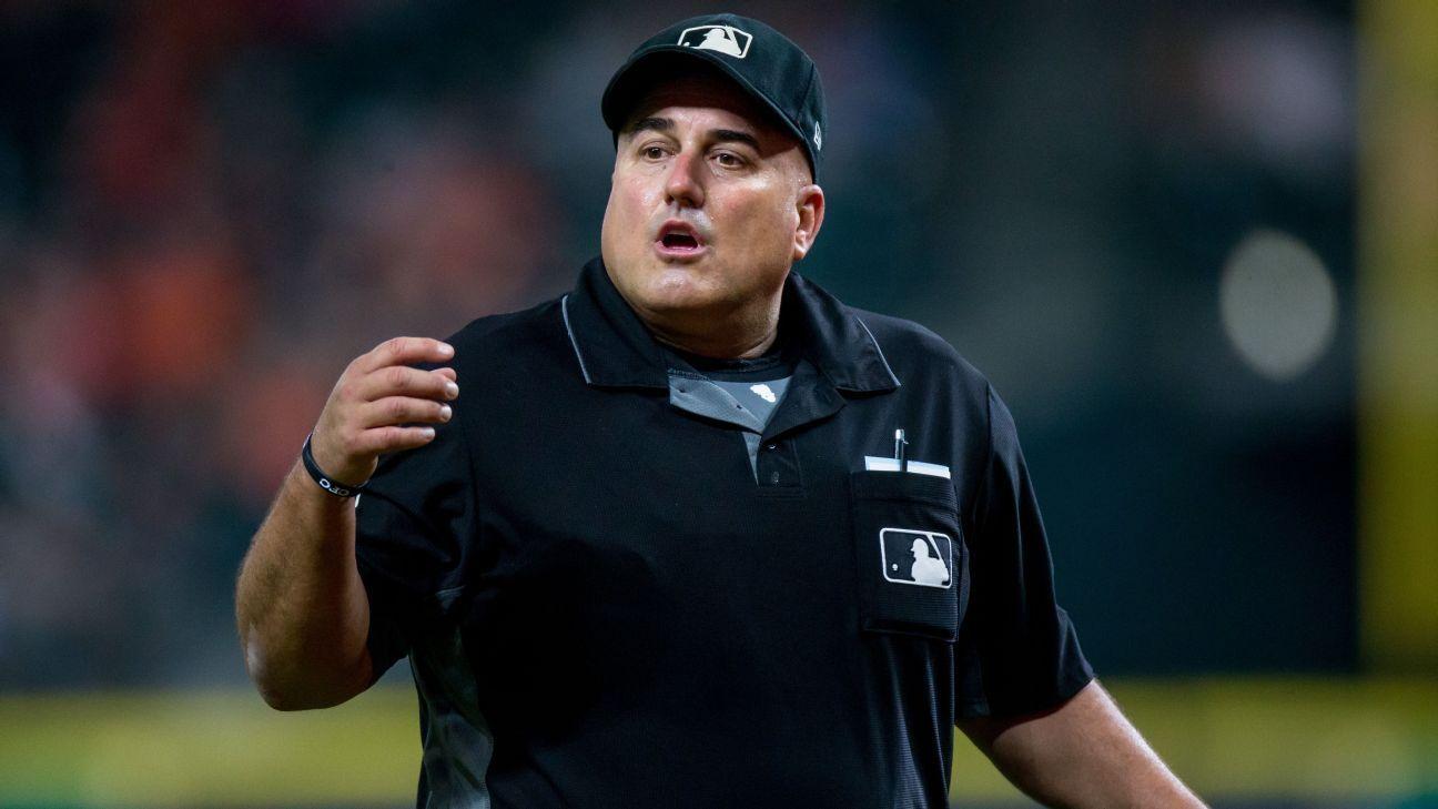 Eric Cooper Mlb Umpire For 21 Years Dies At 52 Mlb Baseball Family Major League Baseball