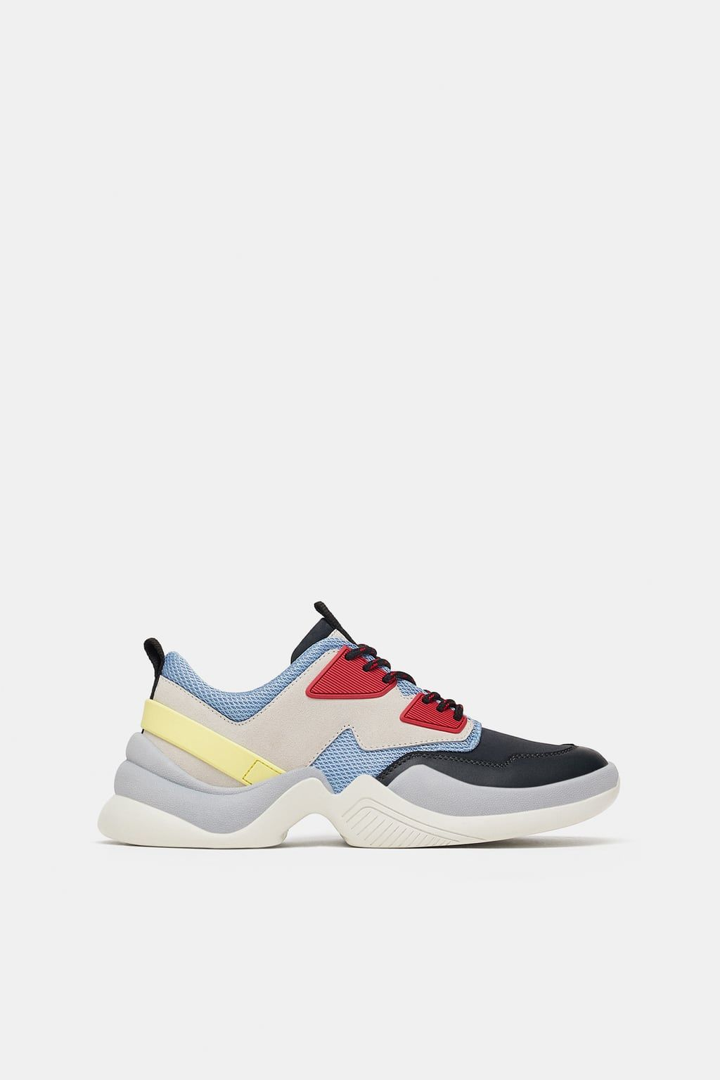 Image 1 Of Fashion Sneakers From Zara Best Sneakers Sneakers Sneakers Fashion