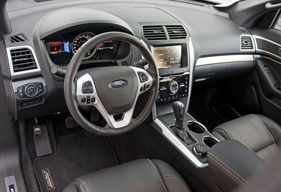 Выводим на чистую воду кроссовер Ford Explorer Sport — ДРАЙВ