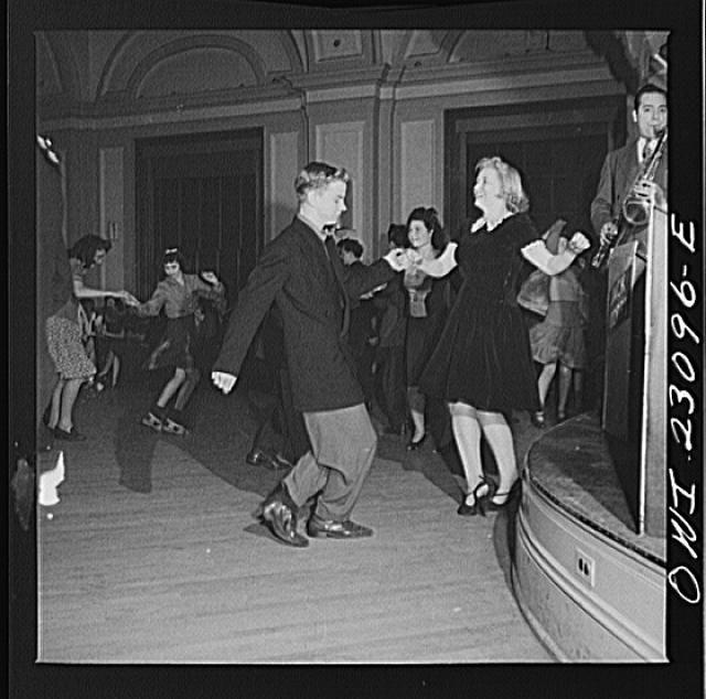 1943 Washington, DC Jitterbugs At An Elks Club Dance-6497