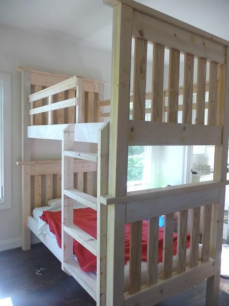 Best Diy Bunk Beds Hopefully It Doesnt Turn Out Like Step 640 x 480