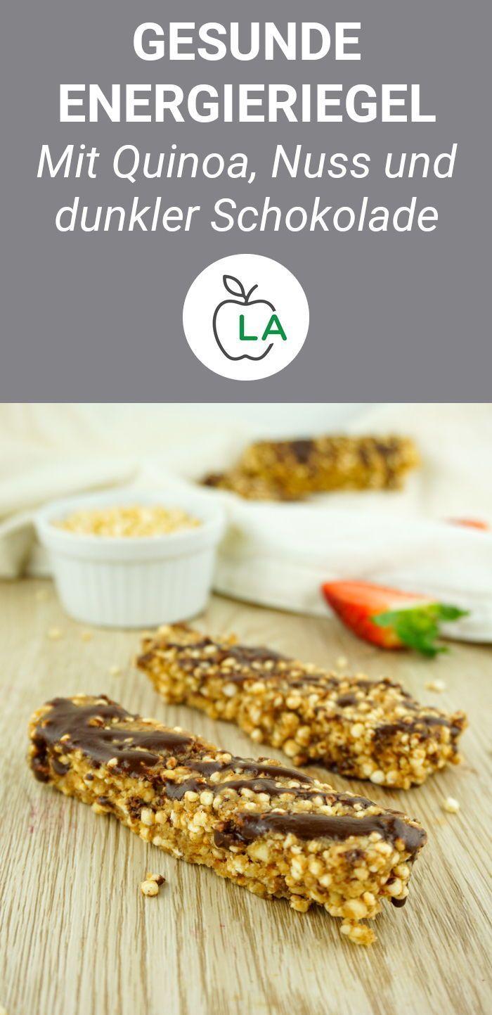 Quinoa Riegel: Selbstgemachter Energieriegel für zwischendurch        Du suchst einen schnellen un