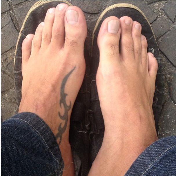 best male feet