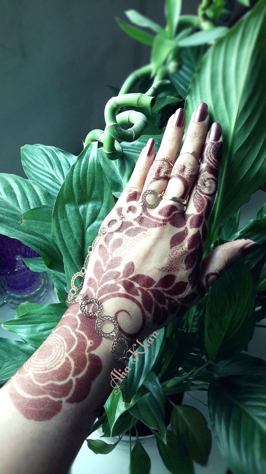By Alia Khan Unique Henna Henna Body Art Beautiful Henna Designs