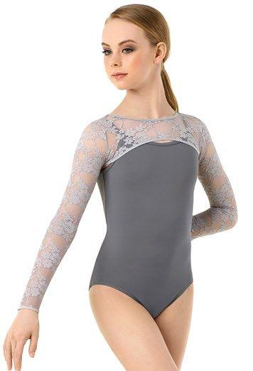 Long Sleeve Open Lace Shrug   Balera™   Pretty leotards