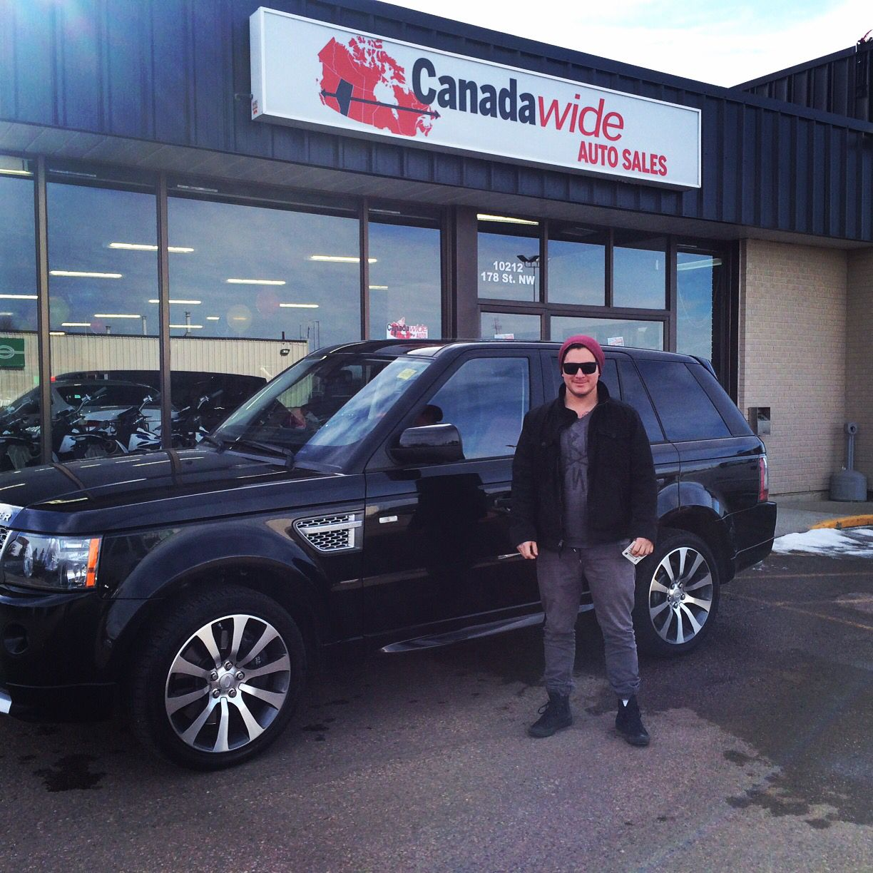 Congrats to Brock on his new purchase here at Canadawide