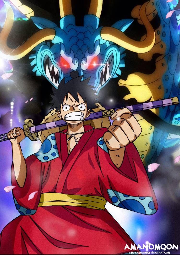 One Piece Luffy Vs Kaido Fanart Wano Kuni Country By Amanomoon On Deviantart In 2020 One Piece Drawing One Piece Luffy One Piece Wallpaper Iphone