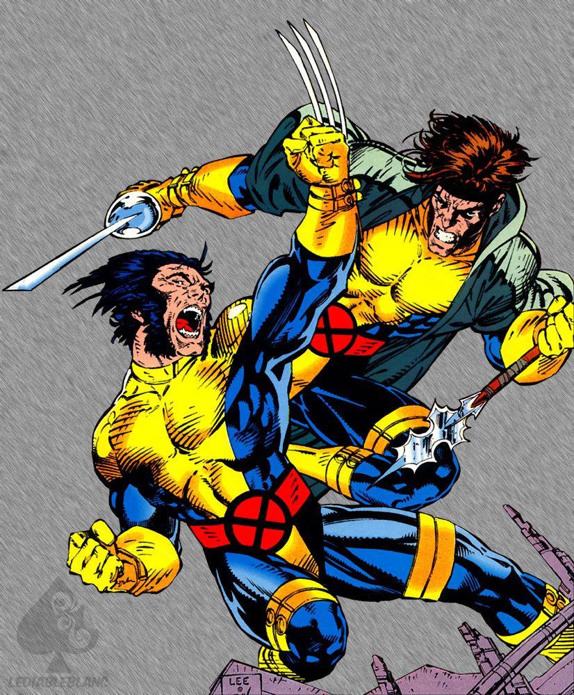 Remylebeau Com Fan Site For Gambit Of The X Men X Men Lady Deathstrike Wolverine