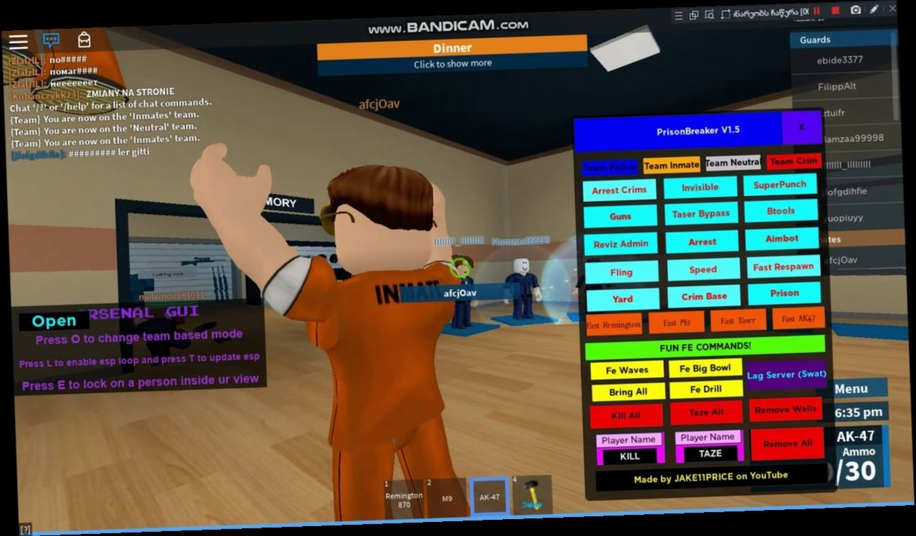 Roblox Prison Life Hack Download 2020 Prison Life World Generator Roblox