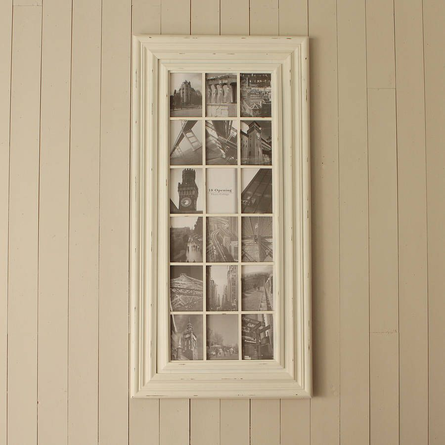 Large cream multi frame frames pinterest table plans and hall are you interested in our wooden multi photo frame with our wooden multi aperture frame you need look no further jeuxipadfo Images