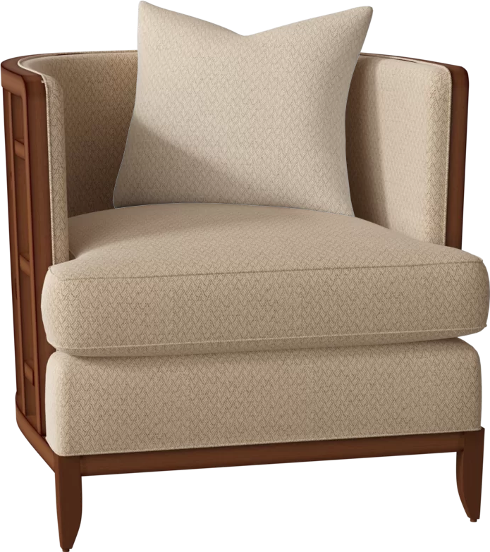 Ocean Club Barrel Chair Barrel chair, Chair, White
