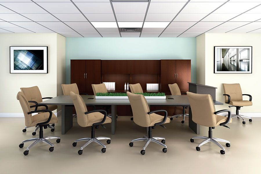 Office Room Design luxury-cofference-table-for-office-conference-room-interior-design
