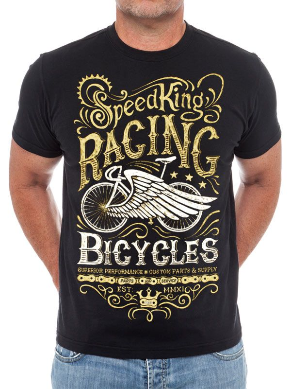a117e07a Retro Racing Cycling Tee from Cycology. Retro Racing Cycling Tee from  Cycology Cycling T Shirts, Bike ...