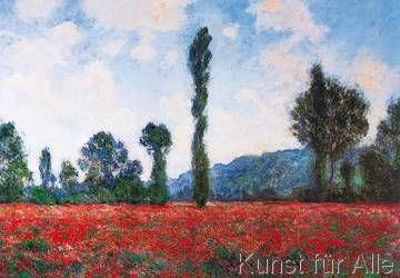 Art Print Campo Di Papaveri By Claude Monet Mit Bildern Claude Monet Mohn Malerei Mohnblumen Kunst