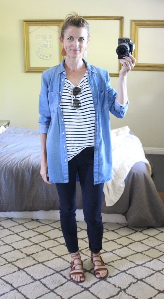 ee20d2e277309f what i wore at the pleated poppy - striped shirt