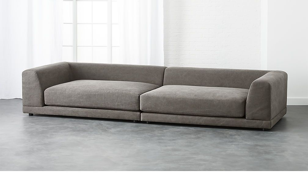 Sectional Low Which Is Good Looks Comfy Can Be Paired Easily
