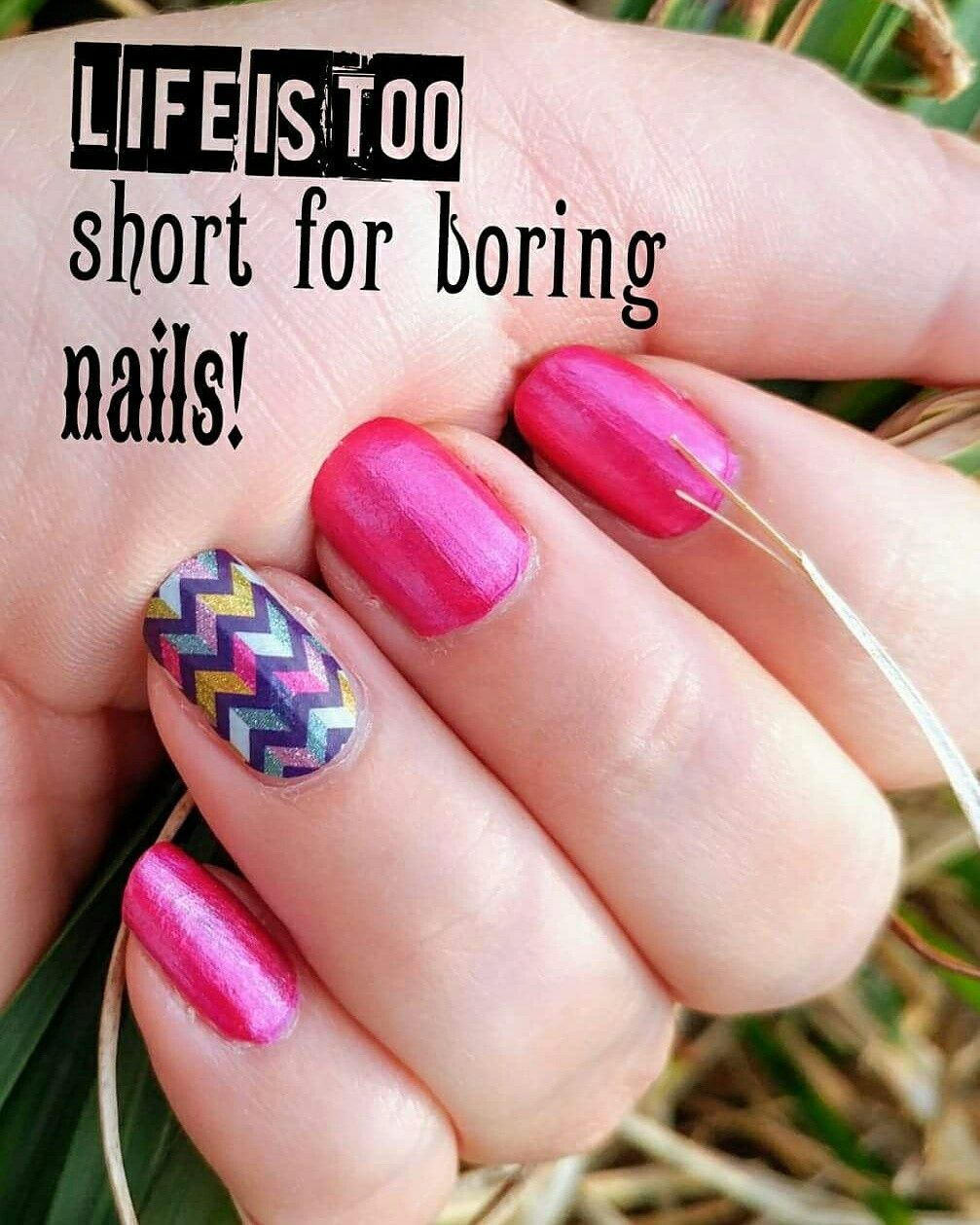 Life is too short for boring nails! #highmaintenance #lacquer ...