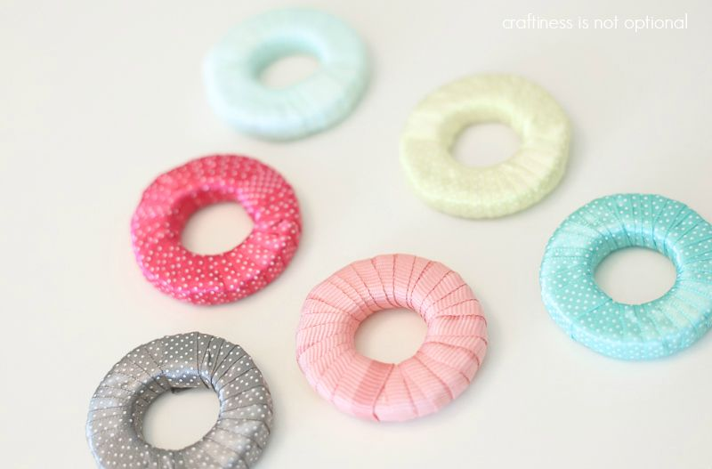 Ribbon And Washer Fabric Weights Tutorial Pattern Weights