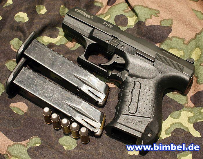 Walther P99 with 2 clips and 5 bullets | GUNS | Guns, Guns