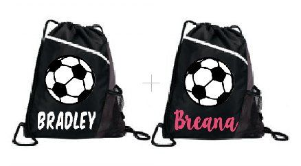 Personalized Soccer Bag Cinch Sports