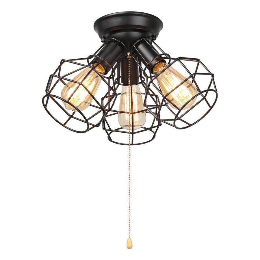 Lnc Pyxes 14 2 In Black Led Flush Mount Light Lowes Com Cage Ceiling Light Ceiling Lights Flush Mount Ceiling Lights