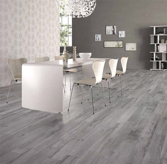 Cape Cod SG Grigio Wood Look Porcelain Tile Kitchen