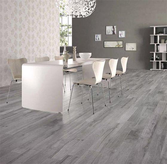 Cape Cod SG Grigio Wood Look Porcelain Tile Kitchen