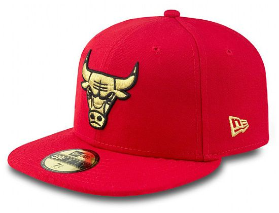 Custom Chicago Bulls 59Fifty Fitted Cap By NEW ERA x NBA