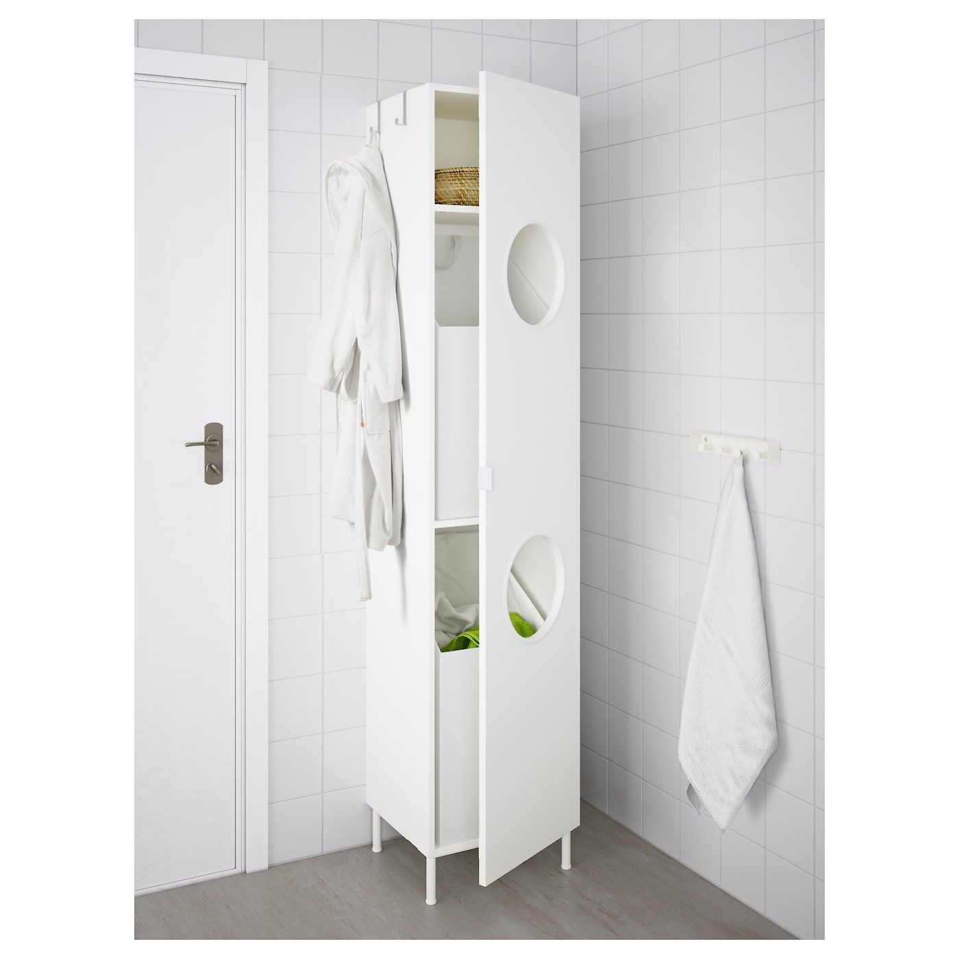 Lillangen Wascheschrank Weiss In 2019 Laundry Cabinets Ikea