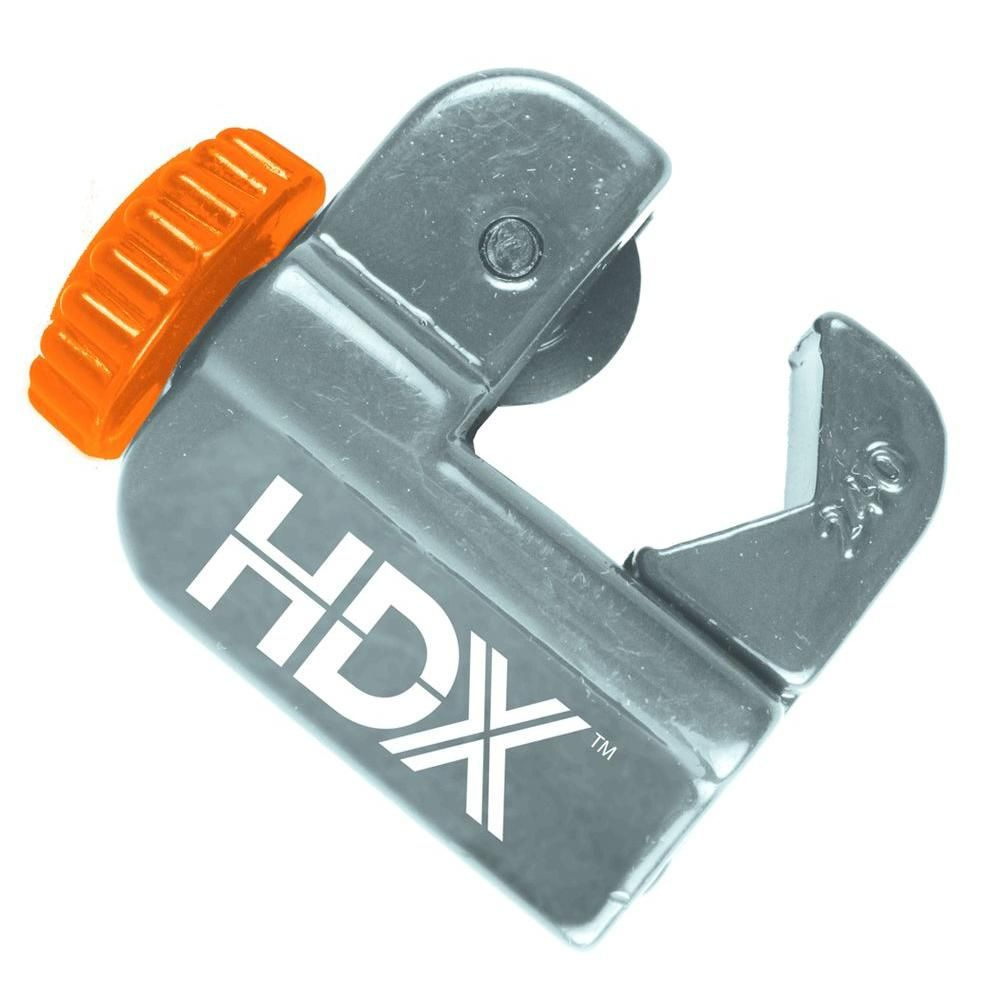 Hdx Junior Tube Cutter Hdx003 The Home Depot Home Depot Home Tools Copper Tubing