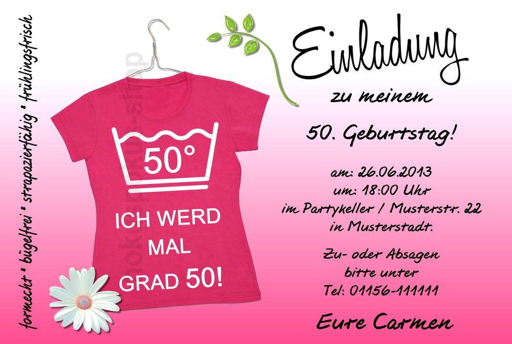 Einladungskarten 30 40 50 60 Geburtstag Einladungen Geburtstagseinladungen  PARTY In Möbel U0026 Wohnen, Feste U0026 Besondere Anlässe, Karten U0026 Schreibwaren |  EBay!