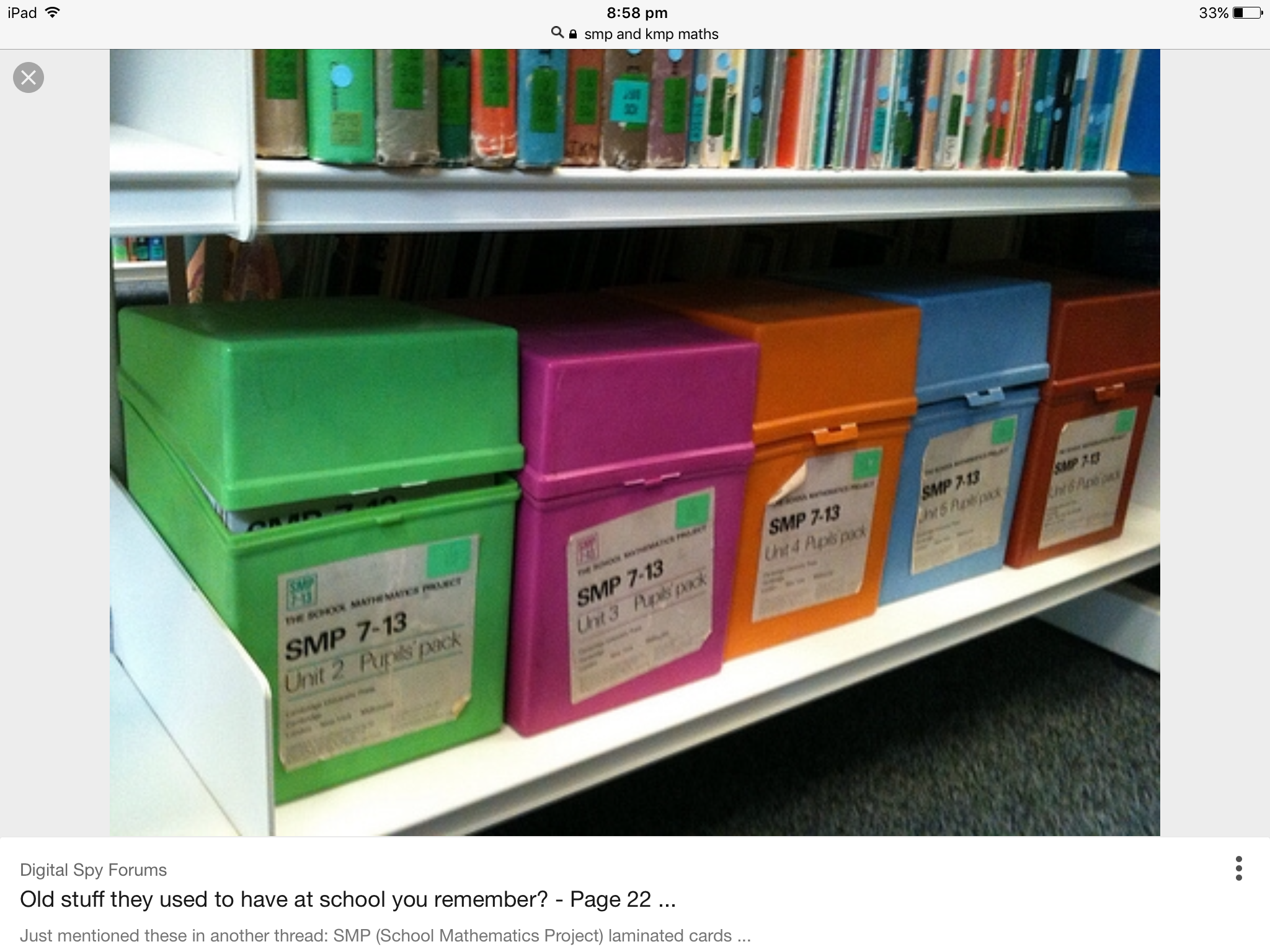KMP & SMP Maths boxes - used in my Juniors school. I have never ...