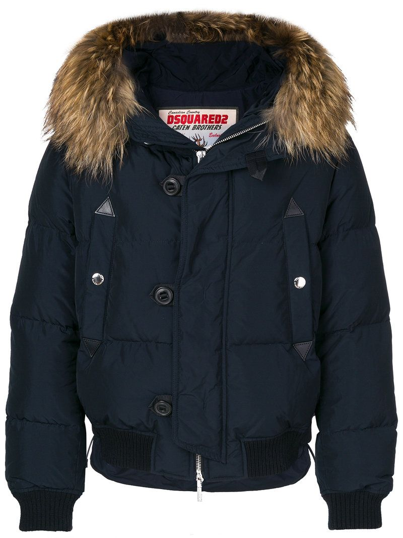 Limited Edition For Sale Best Seller Cheap Price Dsquared2 hooded padded jacket Footaction For Sale Purchase Cheap cXDFFG2X2