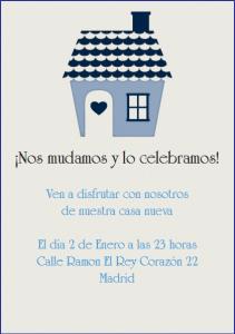Invitaciones para inauguracion de casa la belle carte - Disenar mi casa ...