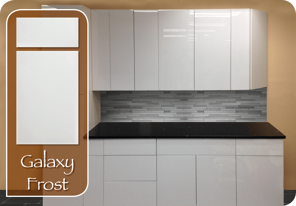 Galaxy Frost Cabinets Laminate Sheets Compact Kitchen
