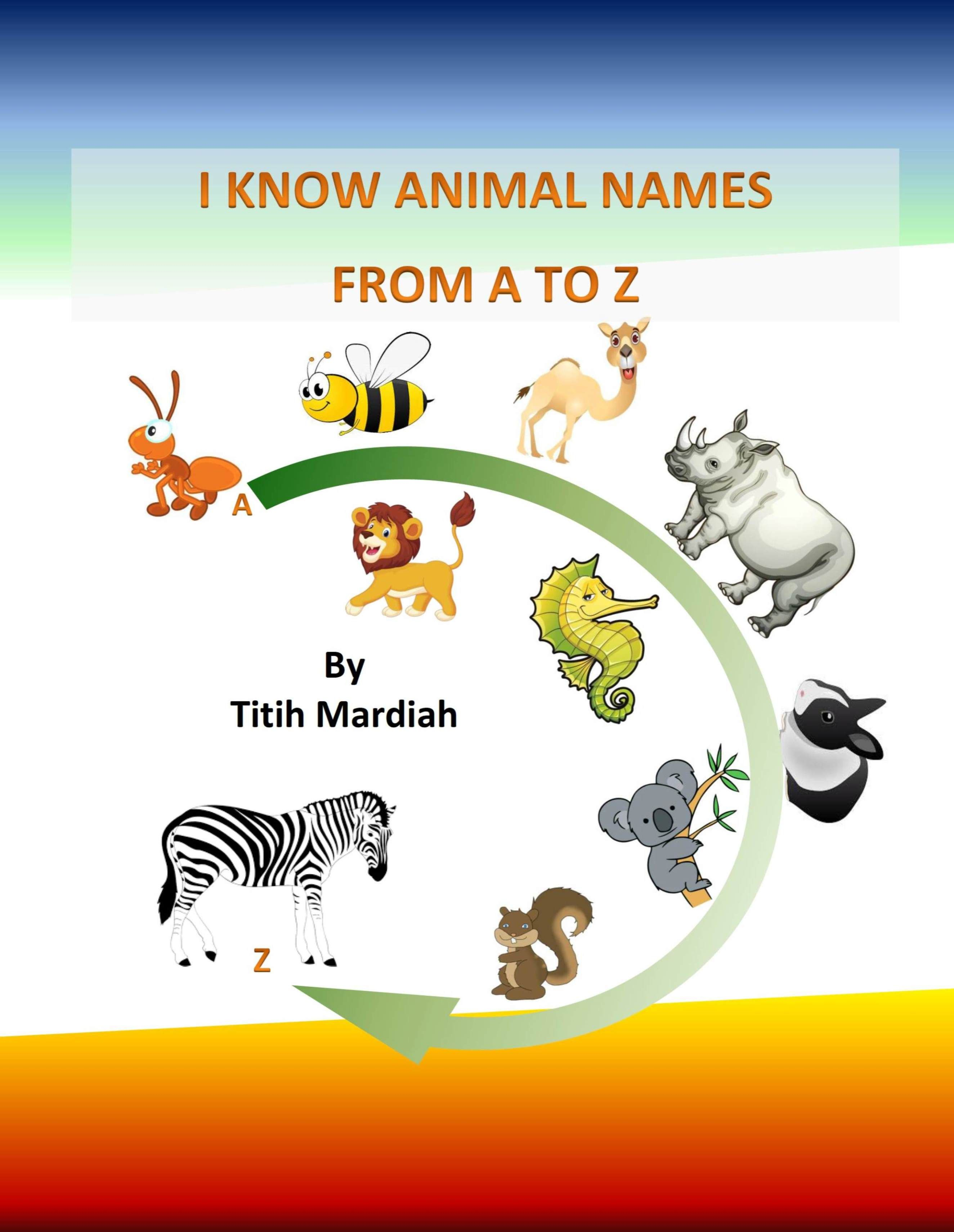 I Know Animal Names From A To Z Cool Photos Cool Pictures Love Photos