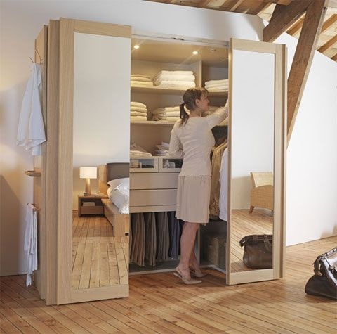 awesome creer dressing dans chambre ideas - transformatorio