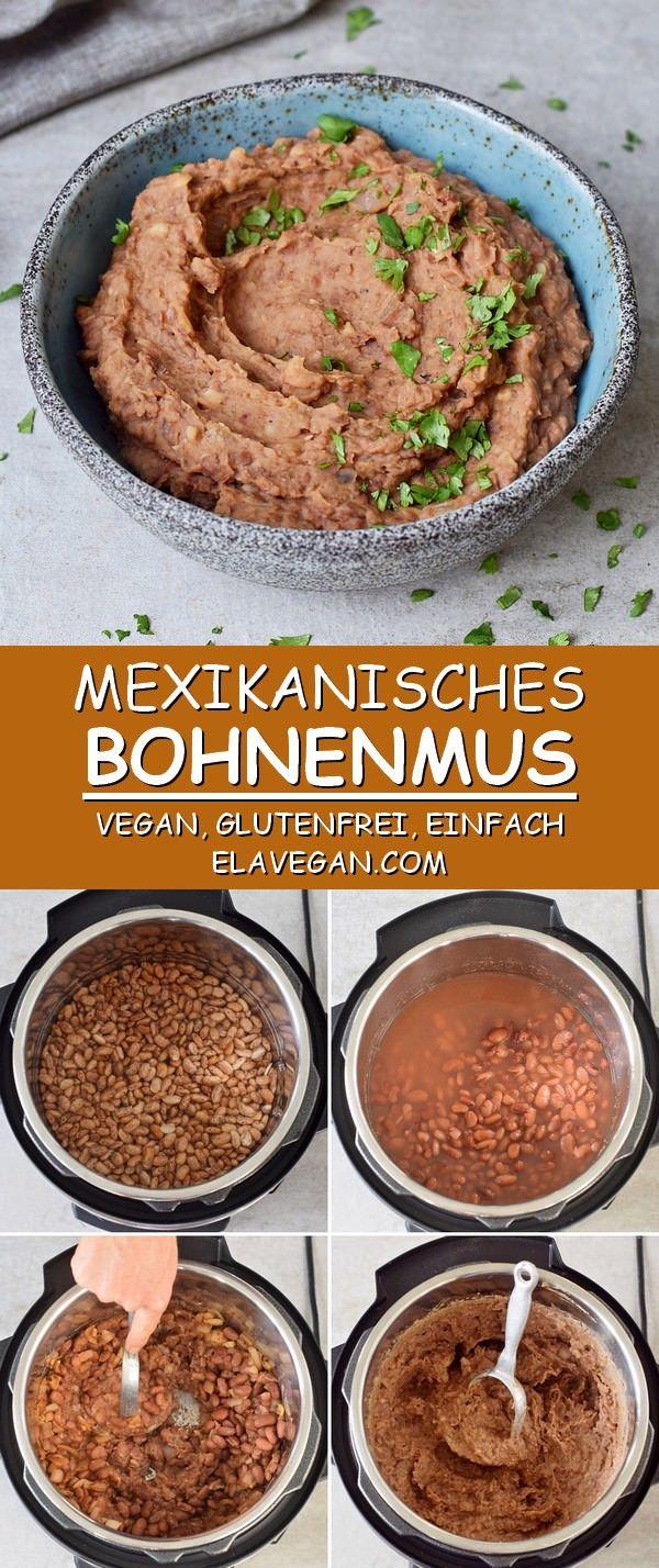 Photo of Easy Bean Jam Recipe Mexican bean puree – Elavegan
