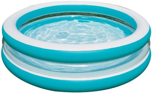 25 Amazon Com Intex 57489ep Swim Center See Through Round Pool Sports Outdoors Inflatable Pool Cool Swimming Pools Blow Up Pool