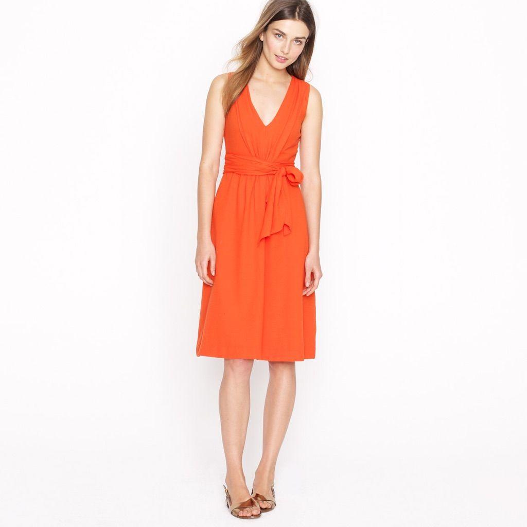 Summer dresses to wear to a wedding  JCrew CottonLinen Dress  Kathys world  Pinterest  Linen dresses