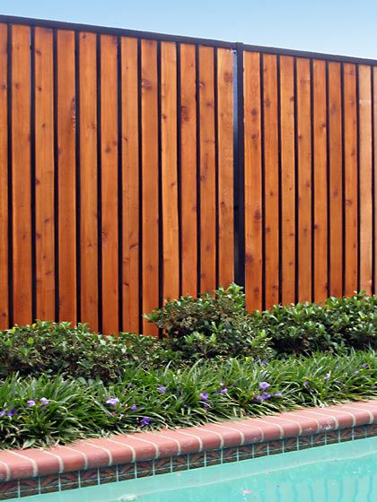 Fortress Estate Residential Fence Wood Iron Wooden Fence Fence Design Cedar Fence