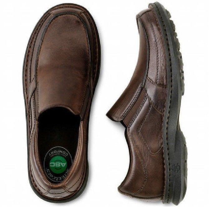 Streetcars shoes carrera Leather Slip On Pecan brown men's