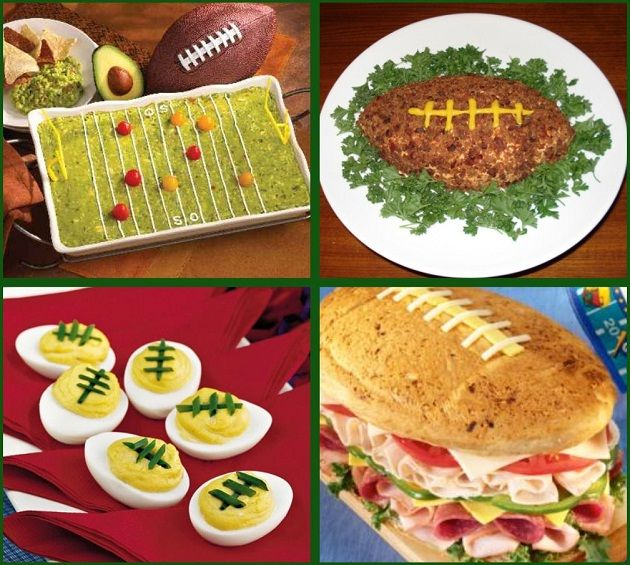 Football Food Ideas for Your Game Day Party - Celebrations at Home